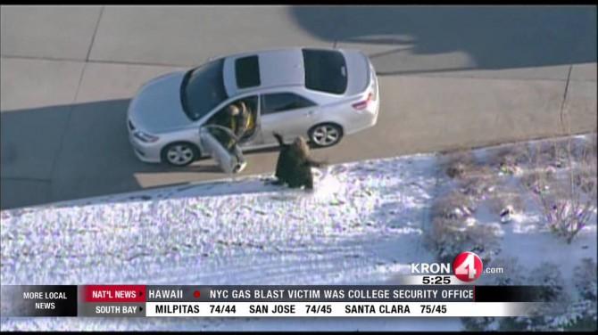 VIDEO: Metsik tagaajamine - auto röövitakse koos lapsega