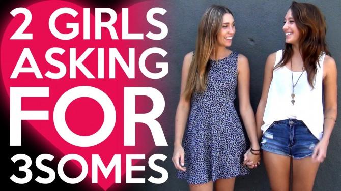 EKSPERIMENT: 2 tüdrukut soovivad vahekorda asuda kolmekesi, pakkudes meestele ennast