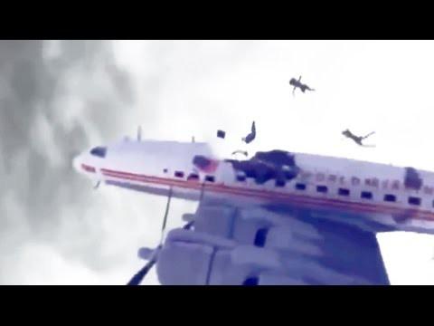 VIDEO: 2 lennukit põrkavad New York-i kohal omavahel kokku