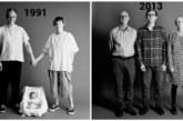 FOTOD: Meeliülendav – fotograaf tegi perekonnast iga aasta ühe foto ja nii 22 aastat järjest