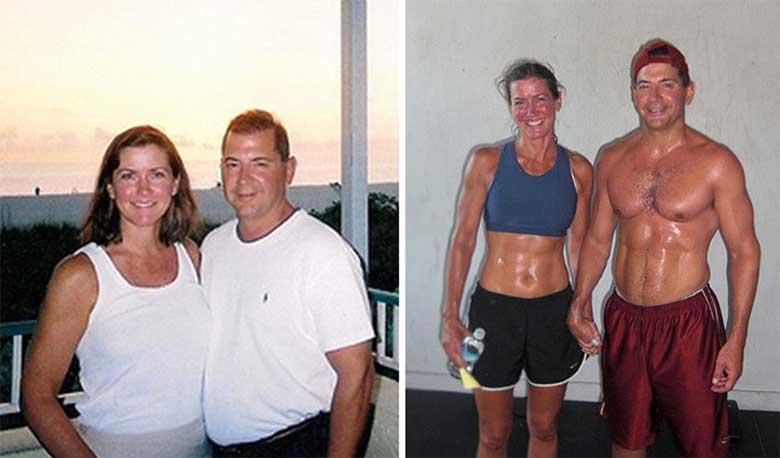 FOTOD: Paarid enne ja pärast kaalukaotust