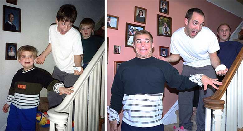 FOTOD: 3 venda taaslõid vanad fotod , et teha emale kalender