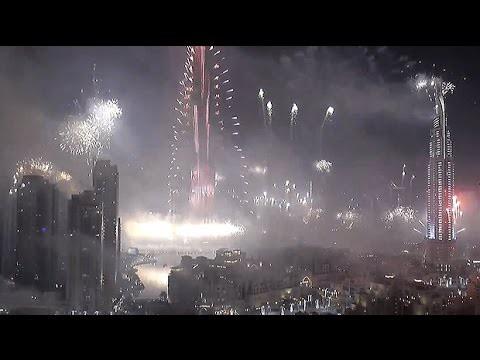 VIDEO: Dubai - maailma kõige võimsam ilutulestik aastal 2015