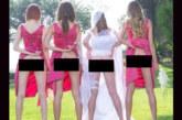FOTOD: Uus trend pulmades – pruutneitsid näitavad oma paljast taguotsa