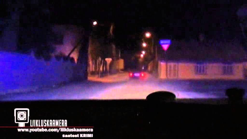 VIDEO: Rakveres üritas roolijoodik politsei eest põgeneda