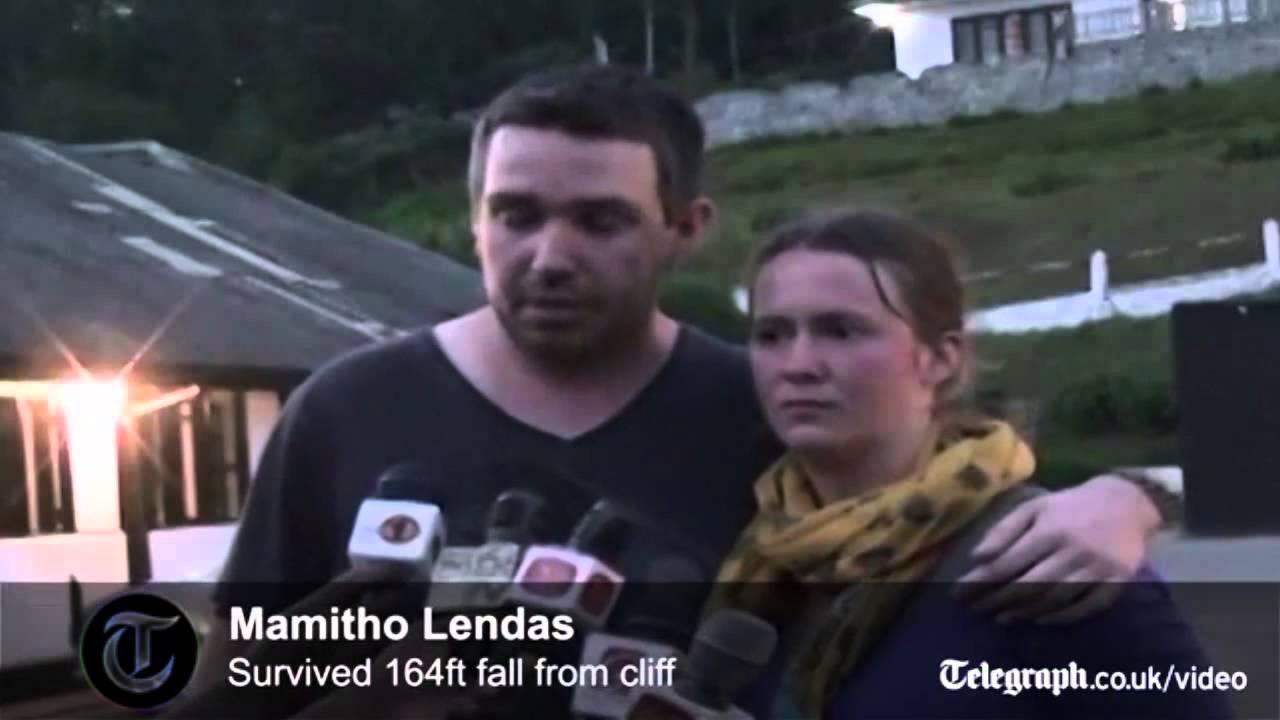 VIDEO: Uskumatu õnn - mees kukkus alla 1,2 kilomeetri kõrguselt kaljult ja jäi ellu