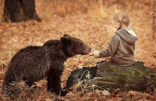FOTOD: Kaunid fotod lastest koos metsloomadega