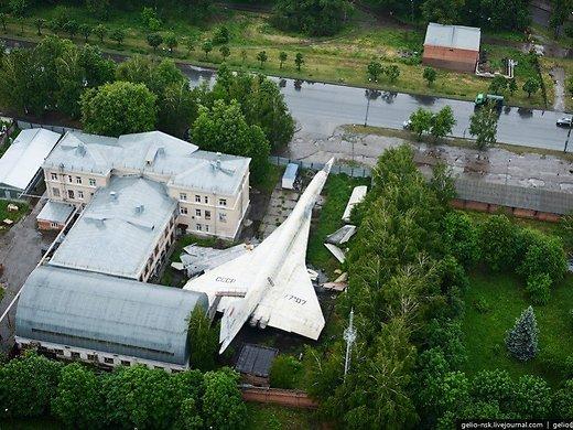 FOTOD: Maailma kiireim reisilennuk on maha jäetud ja vedeleb ühes Venemaa hoovis