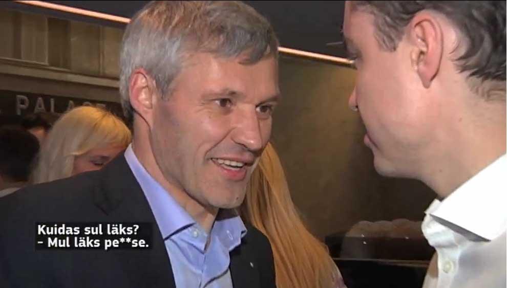 VIDEO - Erki Nool: kuna meil Juhan feilis, siis läks kogu värk p...e