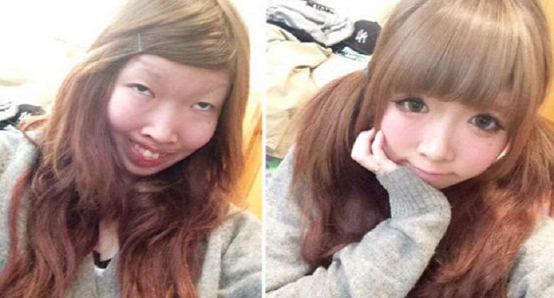 FOTOD: Jaapani Mees sai šoki, kui nägi oma kallimat peale 3 kuud ilma meigita
