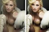 FOTOD: ŠOKEERIV – kuulsused enne ja pärast photoshopimist
