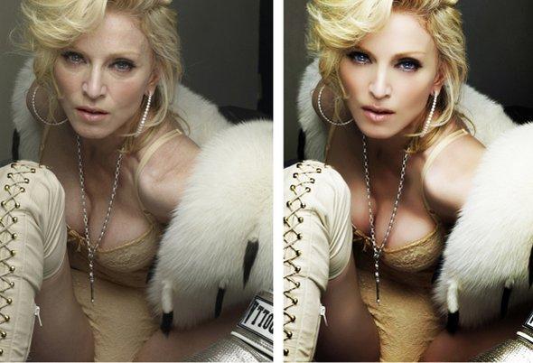 FOTOD: ŠOKEERIV - kuulsused enne ja pärast photoshopimist