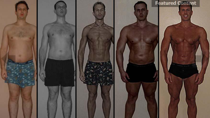 FENOMELAANE: Vaata, millise muutuse tegi mees 365 päeva jooksul