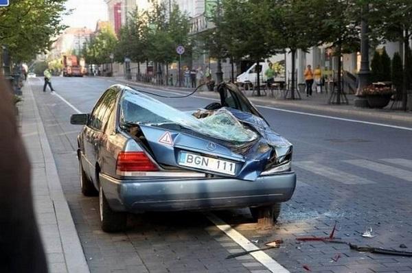 FOTOD: Need parkimisidioodid said oma karistuse kätte