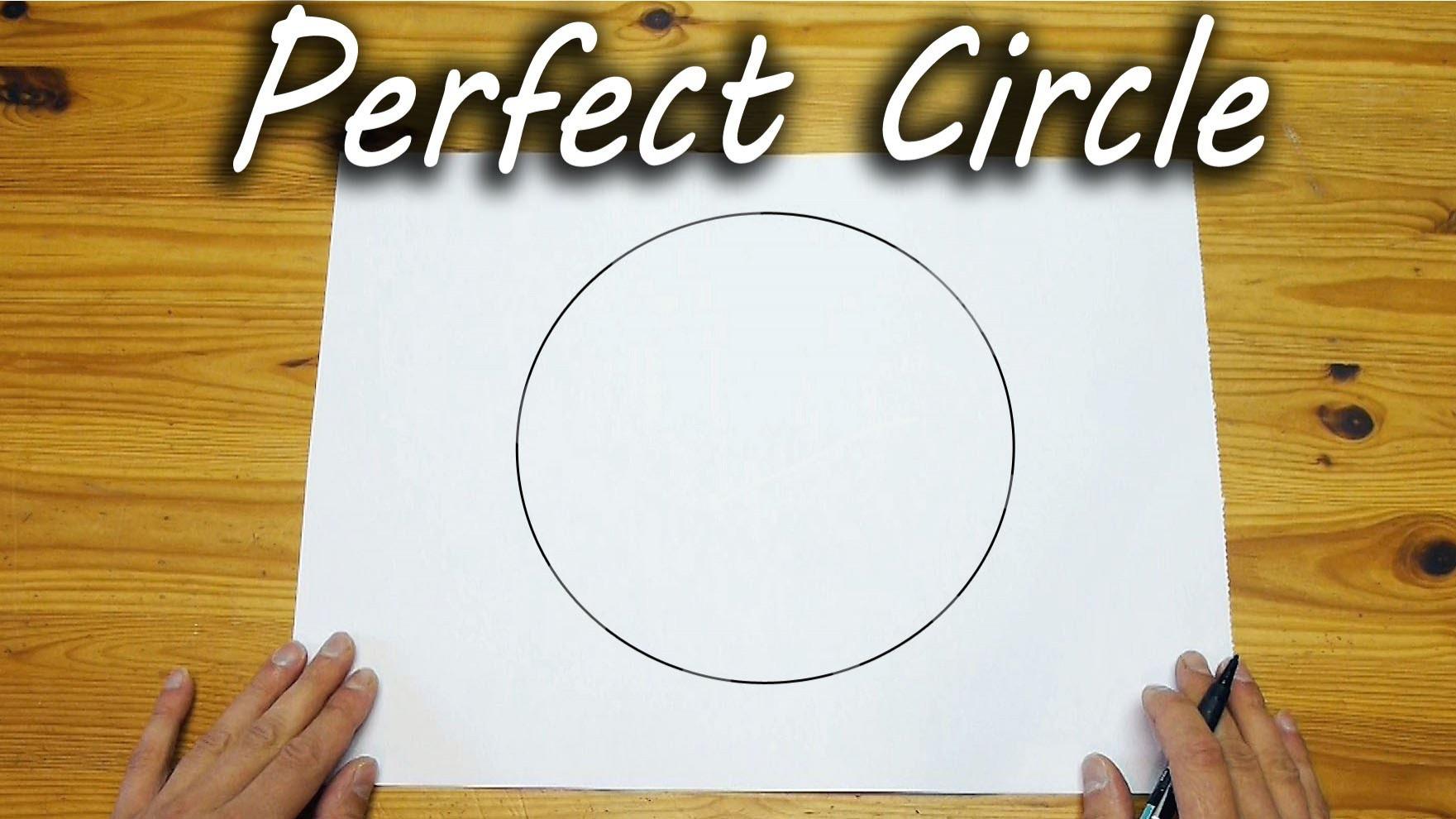 VIDEO: Vaata, kuidas perfektset ringi joonistada paberile ilma sirklita ja muude abivahenditeta