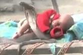 VIDEO: Vaata, mida need 4 kobra teevad väikese lapsega, kui laps magab