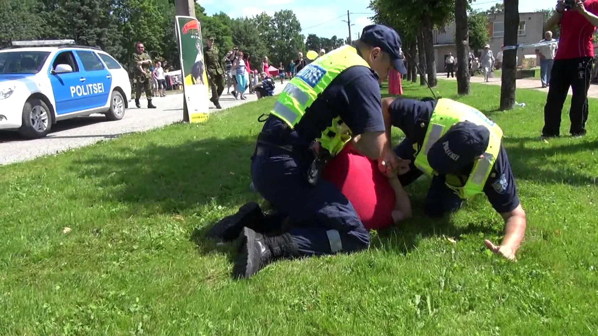 VIDEO: Eesti politsei action - Värdjad raisk, olete kõik homme vallandatud