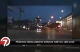 VIDEO: Meeletu tagaajamine Tartus –  roolijoodik põgenes politsei eest ära kiirusel 180 km/h