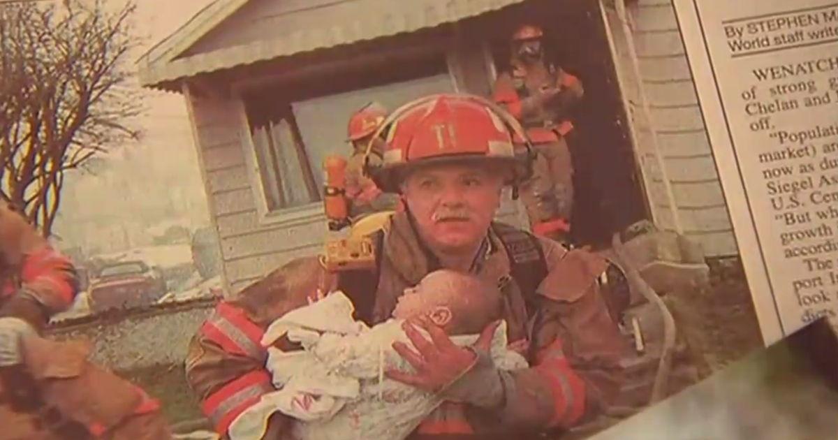 VIDEO: 17 aastat tagasi päästis tuletõrjuja 9 kuuse tüdruku tulesurmast ...