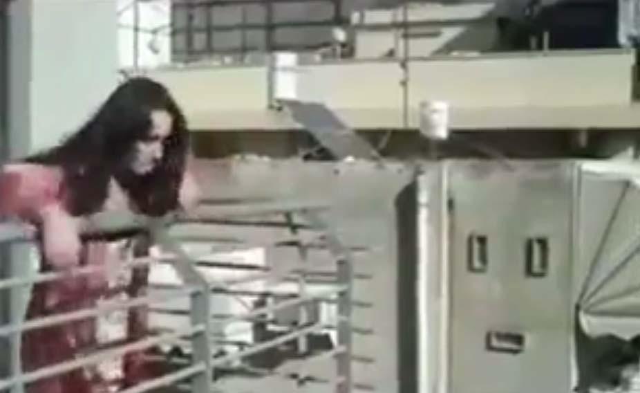 VIDEO: Naine viskab mehe kodust välja, kui järsku juhtub midagi...