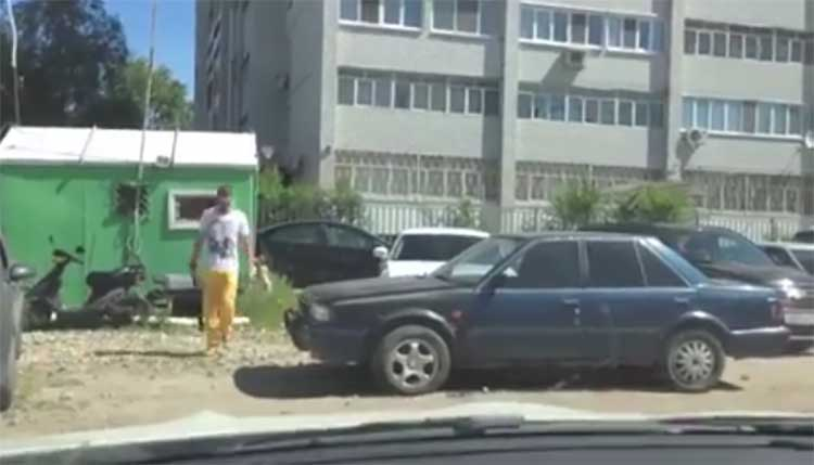 VIDEO: Valesti parkija sai eriti karmi õppetunni