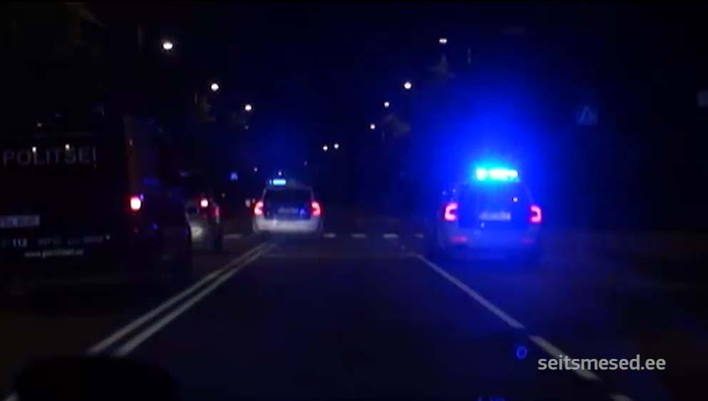 Pardakaamera video|MÄRUL TALLINNAS -  politsei tegi roolijoodiku peatamiseks neli lasku