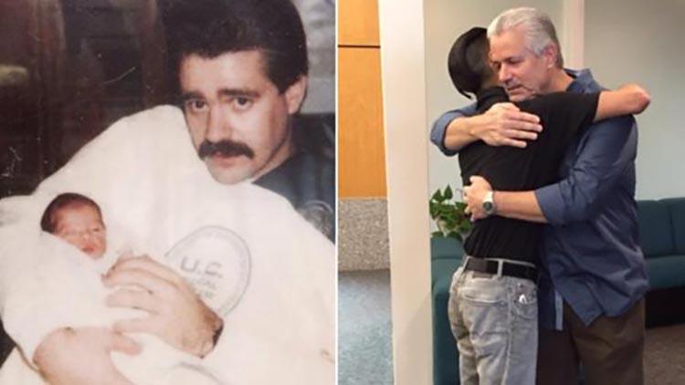 VIDEO: Politsei päästis prügikasti tagant hüljatud beebi 25 aastat tagasi - nüüd, 25 aastat hiljem on taaskohtumine