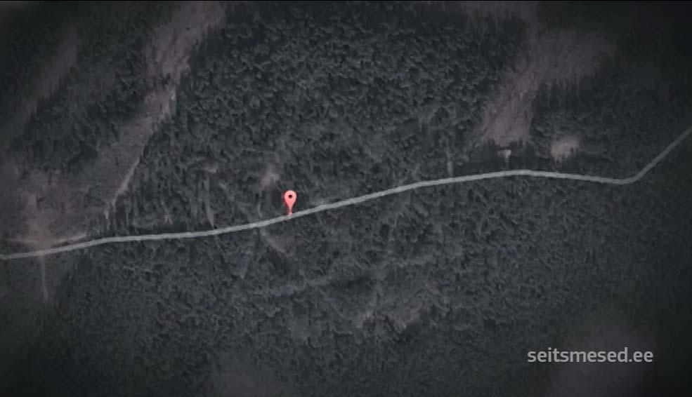 VIDEO: Lõuna-Eesti metsas on peidus kõhedusttekitav ja kummaline metsasihtidest heksagramm