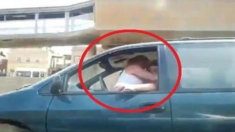 VIDEO: Paaar seksib sõitvas autos