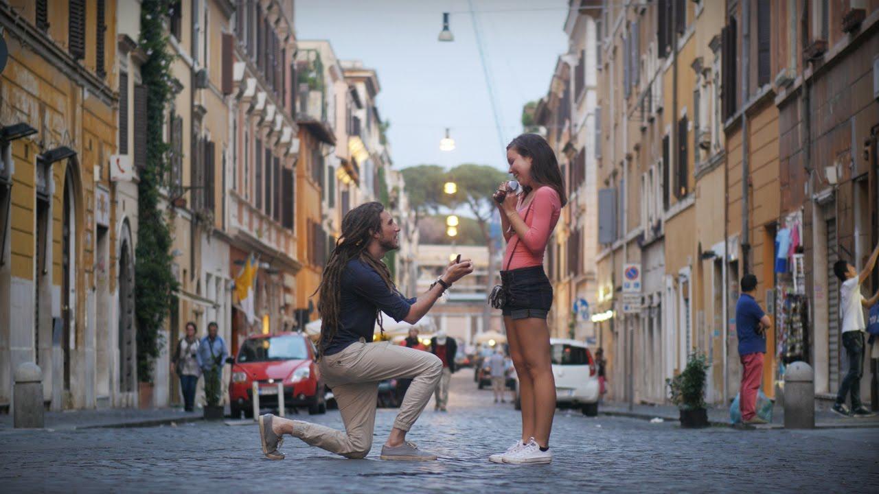 VIDEO: Üks väga kaunis abieluettepanek