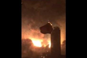 VIDEO: Hiinas toimus tohutu plahvatus. Plahvatuse võimsus võrdub 21 tonni dünamiidi plahvatusega