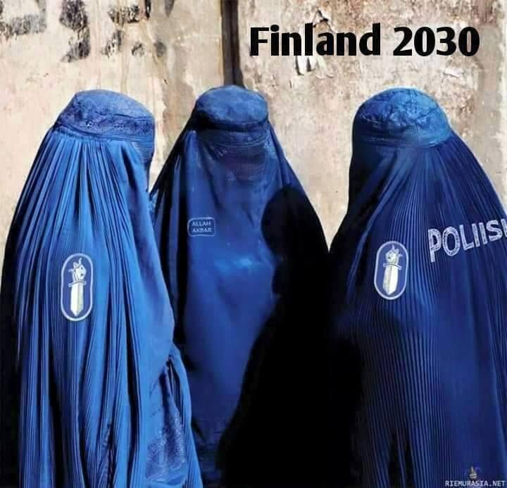 FOTO: Ennustus - kas selline on Soome politsei 2030 aastal ning Eesti politsei 2050 aastal?