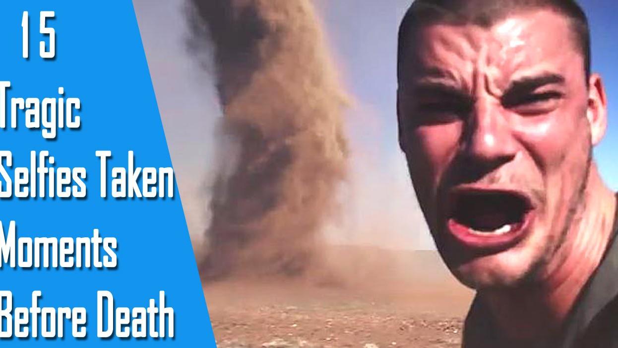 VIDEO: 15 selfiet, mis on tehtud enne surma