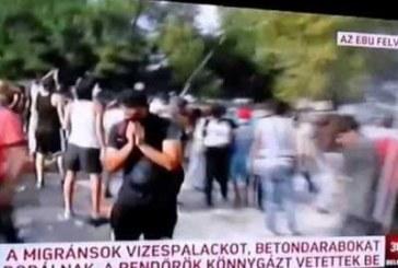VIDEO: Lõpuks ometi – pagulasi tulistatakse kahurist ning piserdatakse gaasiga