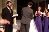 VIDEO: Ülilahe – vaata, mida teeb peigmees peale pruudi suudlemist