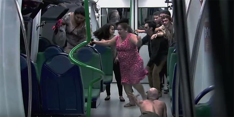 TÜNGAVIDEO: Tõeliselt jube - Zombide rünnak metroojaamas