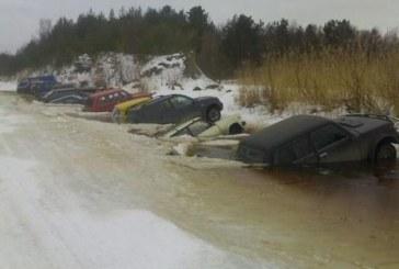 FOTOD: Kalale minnes tasuks auto natuke hoolsamalt parkida