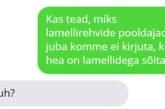 Lamellrehvide pooldajad…