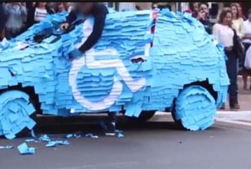 VIDEO: Mees parkis auto vale koha peale – vaata, mis tüübi autoga tehti