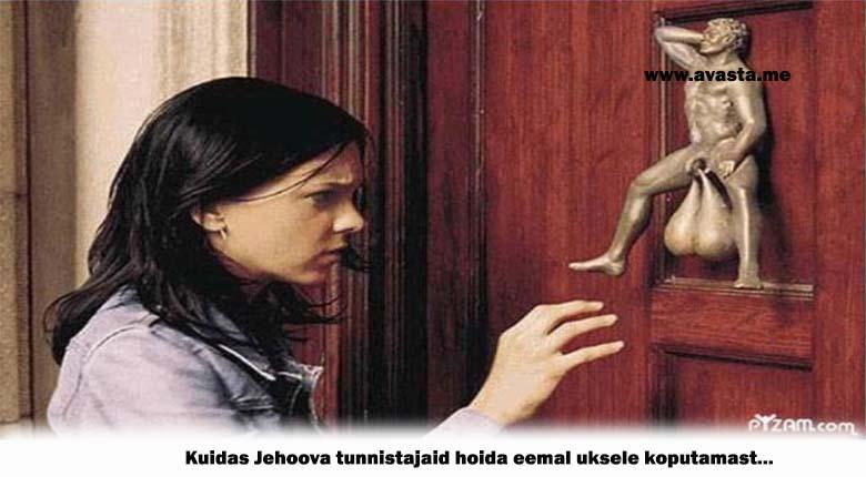 Nii saab Jehoova tunnistajaid oma kodu uksest eemal hoia