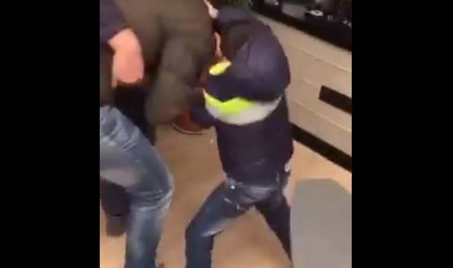 VIDEO: Korralik andmine - mõelda vaid, kui selline murdja sulle tänaval vastu tuleb...