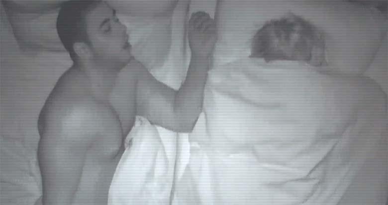 VIDEO: Ta arvas, et oli voodis oma naisega - vaata, mis tegelikult juhtus...