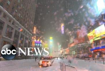 VIDEO: Väga ekstreemne – Lumetorm Jonas on enda alla matnud nii New Yorgi kui Washingtoni