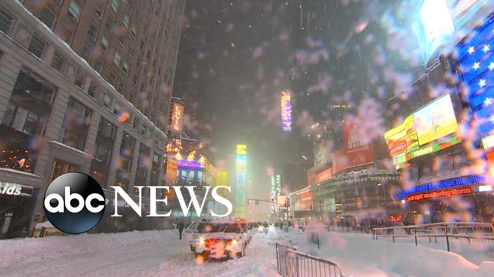 VIDEO: Väga ekstreemne - Lumetorm Jonas on enda alla matnud nii New Yorgi kui Washingtoni