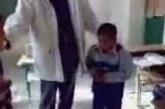 VIDEO: Kohutav, kuidas see õpetaja kahte väikest poissi koolis peksab