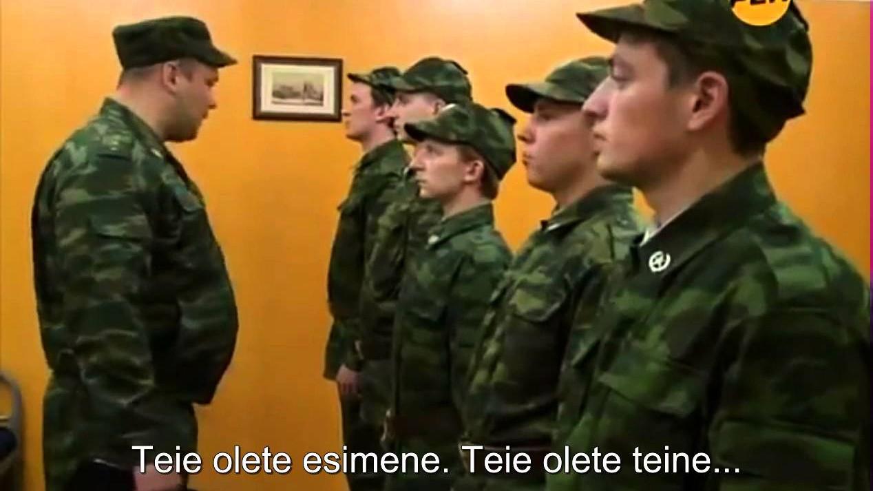 VIDEO: Natuke vene sõdurinalja - eriti juhmidele võin korrata...