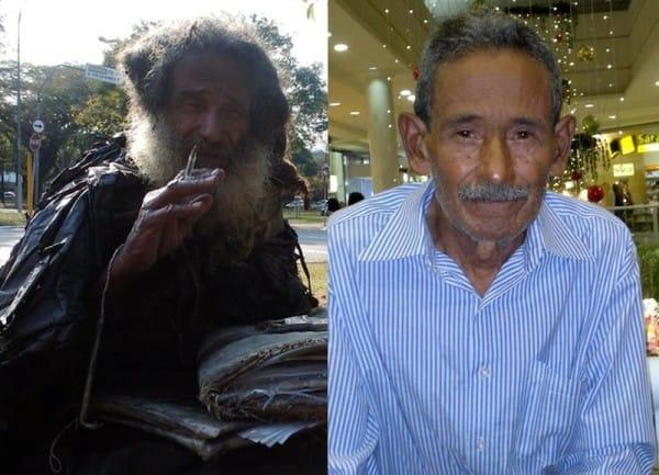 Raimundo vend leidis talle kodu ning aitas tal oma eluga taas järje peale saada.