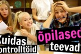 VIDEO: Vaata, kuidas Eesti tüdrukud kontrolltöid koolis teevad…
