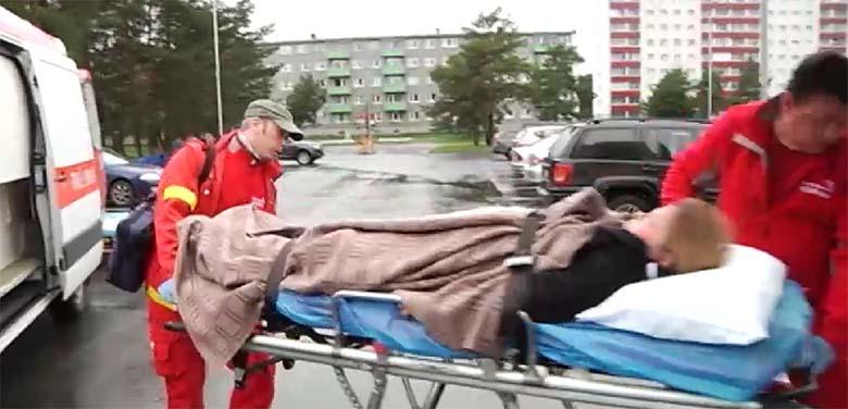 VIDEO: Kiirabiautod, kanderaamid, verised lapsed -  Sütiste teel toimus täna suur kriisiõppus!