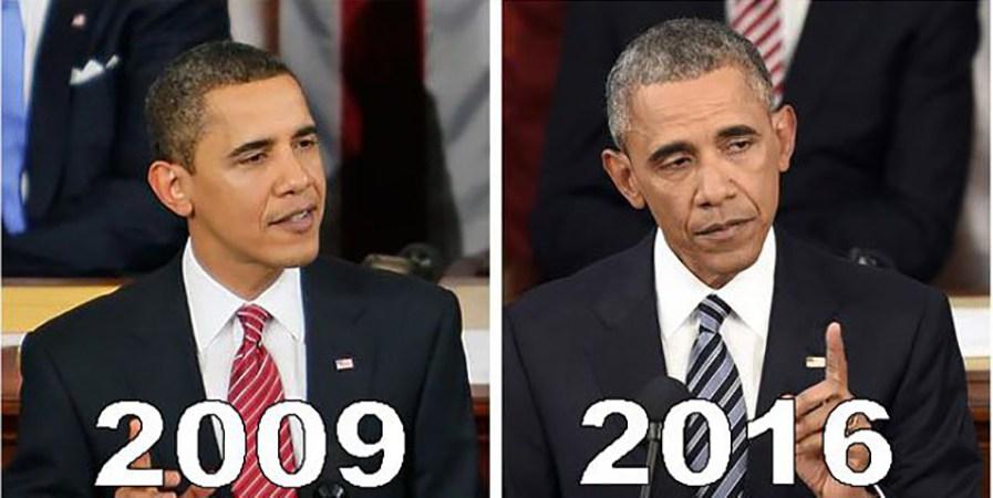 FOTOD: 10 USA presidenti ametiaja alguses ja lõpus